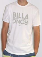 Men's Billabong White Flipped Surf T Shirt / Tee. Size M - XL. NWT, RRP $39.99.