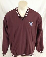 10th Mountain Division Maroon Red Pull-Over V-Neck Fort Drum Men's Large