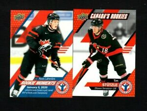 2020 Upper Deck National Hockey Card Day Canada 17 Card Complete Set