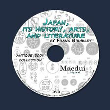 Japan, its history, arts, and literature by Frank Brinkley 8 PDF E-Books 1 DVD