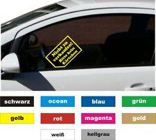 2 x Nicht zu verkaufen Bitte kein Kärtchen Auto Aufkleber Beschriftung Sticker