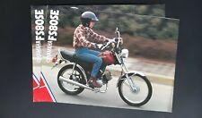 FS80SE  Revue publicité moto Yamaha FS 80 SE prospectus catalogue brochure