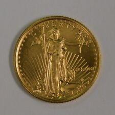 1991 Gold 1/10 OZ Eagle MCMXCI $5 High Grade Uncirculated Coin.
