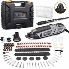 Rotary Tool Kit 1.8 Amp, Variable Speed with Upgraded Flex Shaft, 63 Accessories
