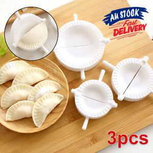3pcs Ravioli Press Mould Maker Mold Pierogi Turnover Dumpling Empanada Dough