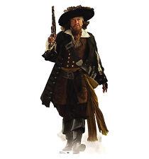 CAPTAIN BARBOSSA Pirates of the Caribbean Rush CARDBOARD CUTOUT Standee Standup