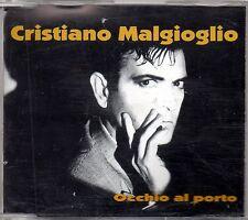 CRISTIANO MALGIOGLIO -OCCHIO AL PORTO - CD SINGOLO  4TR. NEW NON SIGILLATO RARO