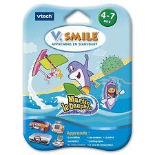 Jeu V.Smile Motion  MARTIN LE DAUPHIN - 4-7 ans - Vtech-Vsmile