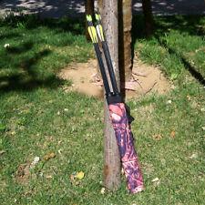 Camo Archery Waist Bow Arrow Quiver Pouch Bag Belt Holder Outdoor Hunting