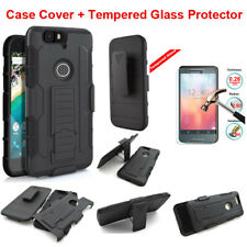 Armor Heavy Duty Rugged Hybrid Case Belt Clip Stand Cover For Google/Nokia Phone