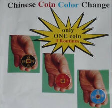 Chinese Coin Color Change - Magic Trick,Close Up Magic,Coin Magic,fun,easy to do