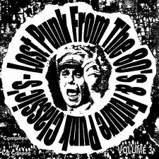 LOST PUNK FROM THE 80'S & FUTURE PUNK CLASSIC'S VOL 3 CD COMP (PUNK, CRASS)