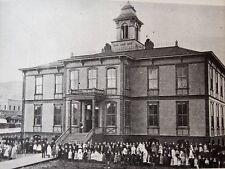 "Roseburg Oregon Schools History ""Then to Now With Roseburg Schools 1854-1970"""