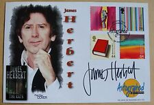 ARTISTS' TALE 1999 AUTOGRAPHED EDITIONS FDC SIGNED BY AUTHOR JAMES HERBERT