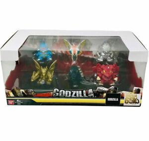 BANDAI Godzilla Chibi 6 Pack set NEW IN BOX!