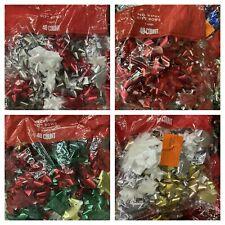 120 Christmas Bows Peel & Stick Wondershop Target 3 Big Bags *Read Description