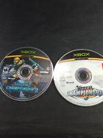Original Xbox Unreal Championship I & II Discs Only Lot Of 2