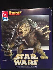 RANCOR (w/Gammorean Guard Victim) From Star Wars 1998 AMT Vinyl Kit Mint In Box