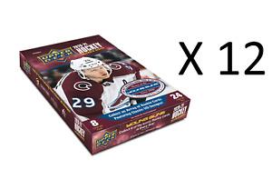 2020-21 Upper Deck Extended Series Hobby Sealed CASE (12 Box / 288 Packs)