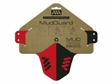 All Mountain Style AMS Mud Guard Mud Protection Red/Black