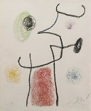 "JOAN MIRO ""ALBUM 21: ONE PLATE"" 1978 
