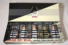 PLASTICGOD - AXIS OF EVIL WAR CRIMINAL EDITION super rad toys Nick Cave kidrobot