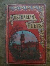Australian Poets: 1788-1888 - Douglas Sladen - Vintage 1888 1st Edition
