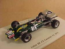 Spark 1/43 Resin Lotus 69 F2, 1970 Castellet F2 Event, BP #3, Graham Hill #S2146