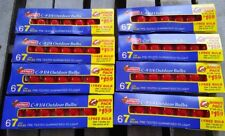 HUGE Lot Vintage Joybrite C 9 1/4 Outdoor RED Christmas Replacement Bulbs 56
