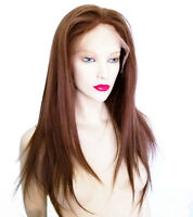 Remy Remi Full Silk Lace Wig Wigs Human Indian Hair Loss Replacement Alopecia