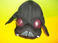 "Angry Birds 8"" Star Wars Darth Vadar Plush Stuffed Toy GUC"