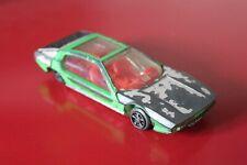 """Dinky Toys 4.2"""" LAMBORGHINI MARZAL Yellow & White Diecast CAR Vintage No:189"""