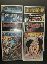 Horror Comic Book Lot of 8 Vampirella Chastity Armageddon