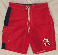Louis Cardinals Boys Rashguard Swimsuit Baseball Licensed MLB Size Medium 7 St