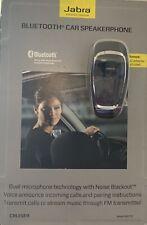 Jabra Cruiser Bluetooth Car Kit Speakerphone 450775 NEW sealed w/ AC Adapter