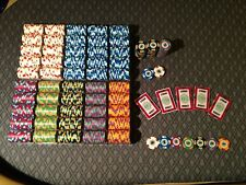 Paulson casino de isthmus City poker chips set 1,079 pieces Mint condition