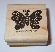 Butterfly Rubber Stamp New Stampin' Up! Butterflies Spring Retired Rare Wings