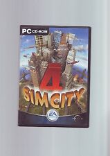 SIMCITY 4 - PC GAME - FAST POST - ORIGINAL & COMPLETE WITH BOTH MANUALS