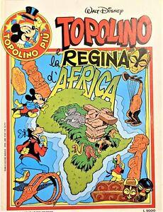 Fumetti - Walt Disney - Topolino e la Regina d'Africa - ed. 1983 Mondadori