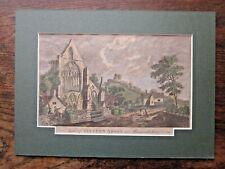 1779 Tintern Abbey Monmouthshire Modern British Traveller Antique Wordsworth