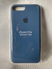 Original Apple iPhone 7 / 8 Plus Silikon Case in Kobaltblau