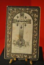 Image mortuaire Faire part de décès Marie S H Cossée de Sémeries MALPLAQUET 1873