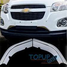 FIT FOR TRAX TRACKER CHROME FRONT HOOD GRILLE COVER TRIM MOLDING GRILL INSERT