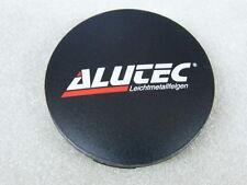 Original ALUTEC Nabenkappen N32 schwarz matt rot für Alufelgen Nabendeckel N 32