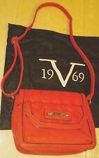 Versace 19V69 Italia Shoulder/Handbag abbigliamento Sportivo Women's Red NWT
