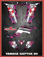 Yamaha Raptor 90 SEMI CUSTOM GRAPHICS FREE CUSTOMIZATION KIT TOON3