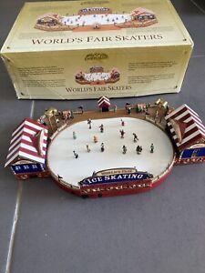 mr christmas world's fair skaters gold label