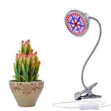 15W Full Spectrum 78 LED Clip Grow Light Flexible Desk Lamp for Indoor Plant Gre