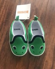 Gymboree Baby Boy Green Alligator Shoes Size 6-12 Months NWT