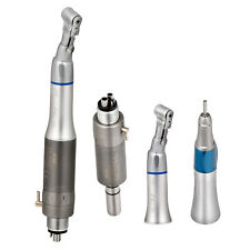 Dental Slow Low Speed Handpiece Contra Angle Straight Air Motor 4 Hole E Type